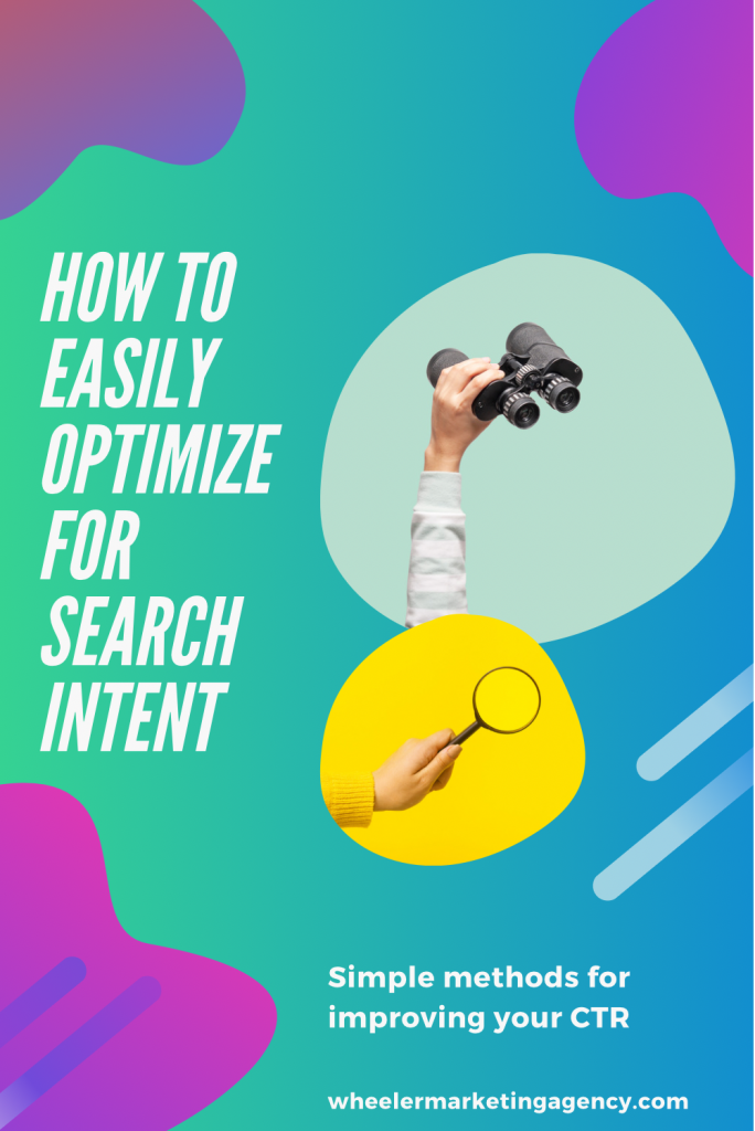 pinterest pin for search intent